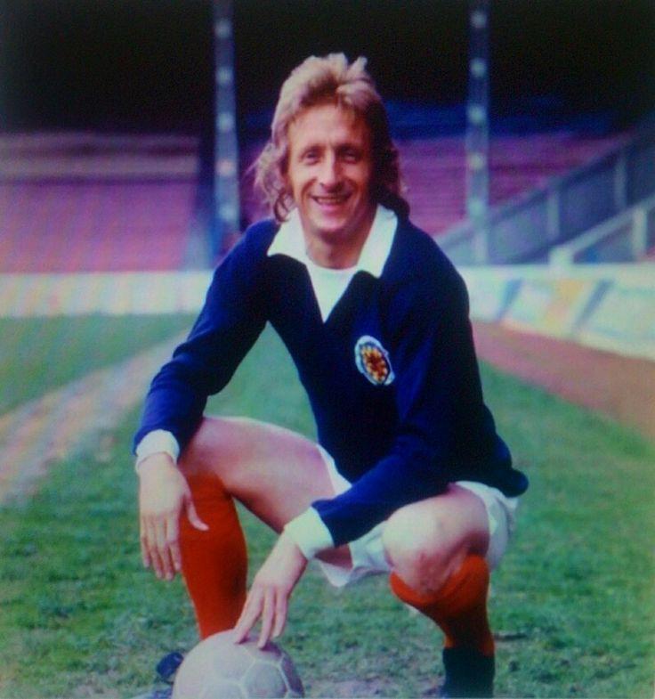Denis Law of Scotland in 1974.