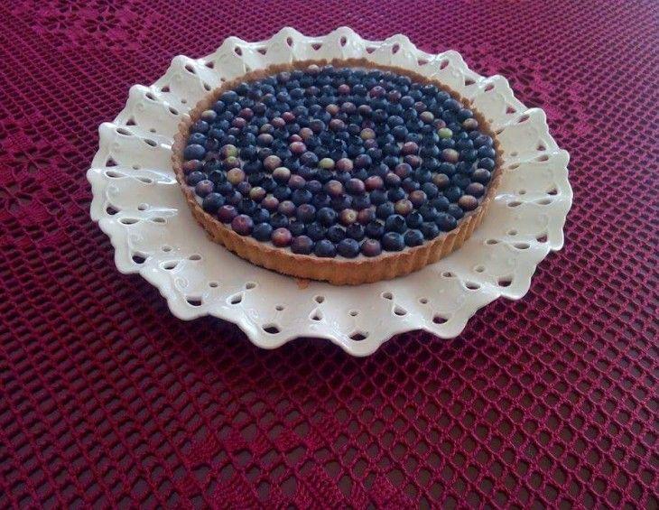 Przepis na: Krucha tarta z budyniem i borówkami. #mistrzowiewypiekow #wypieki #tarta #borowki #lato #ciasto #pieczenie #przepis #pomysl #przyjecie #urodzinowe #ideas #homemade #cake #tart #owoce #fruits