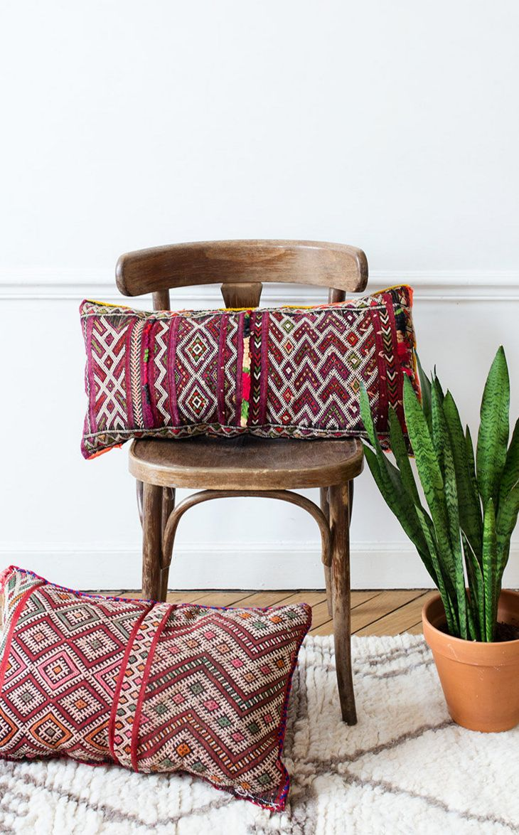 Vintage Moroccan Pillows by Loom & Field on Etsy