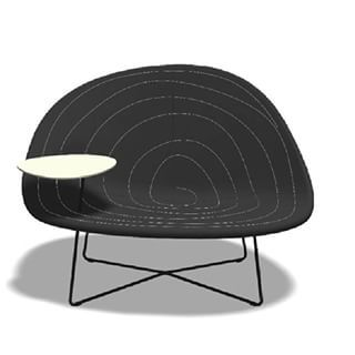 Sentuhan interior berelemen bulan hadir dalam Isola Seat, Tacchini Italia. Warnanya yang gelap dengan dikelilingi garis melingkar, merefleksikan nuansa glam dan klasik modern. Selamat Malam  #BravacasaIndonesia #bravacasa #architecture #interior #architect #IsolaSeat #Tacchini #Italia #TacchiniItalia #Chair #decor