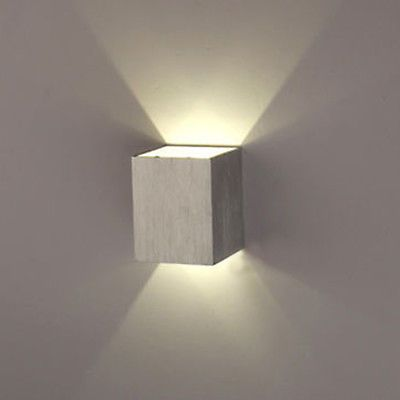 3W LED Square Wall Lamp Hall Porch Walkway Bedroom Livingroom Home Fixture Light