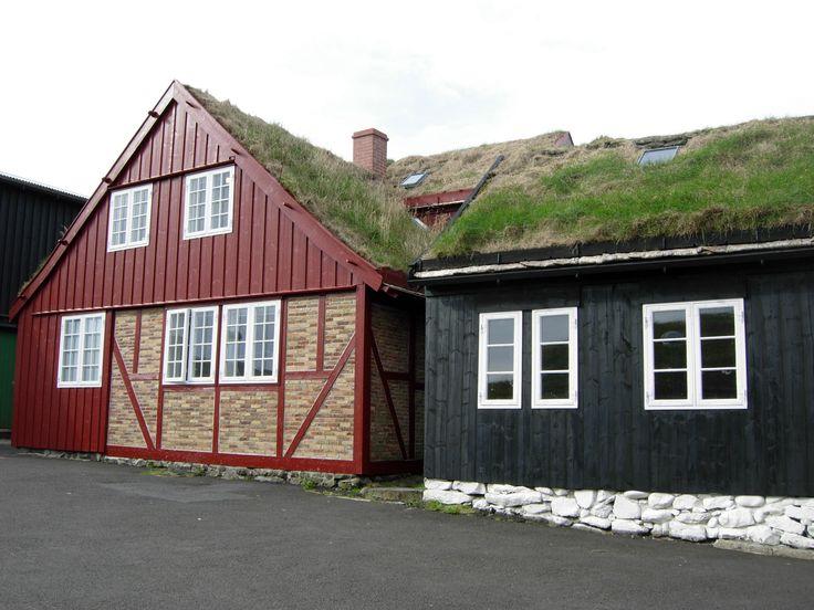 Tinganes er den gamle bydel i Torshavn