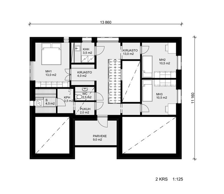 7 best Gulliver (modèle à étage, style contemporain) images on - plan maison 110m2 etage
