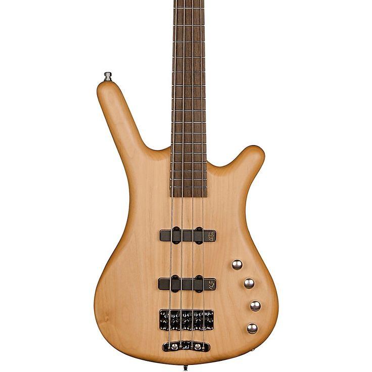 RockBass by Warwick Corvette Basic Active 4-String Electric Bass Natural Satin