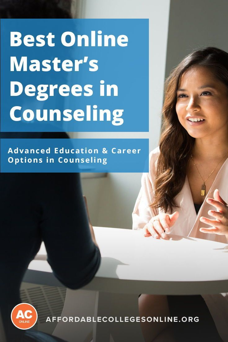 Get An Online Master S In Counseling Best Programs In 2018
