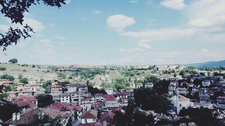 TURKEY-Karabük  #Safranbolu #tarih #kokan #memleketim #tepeden #bir #görünüş #anıyakala #doğatutkunu