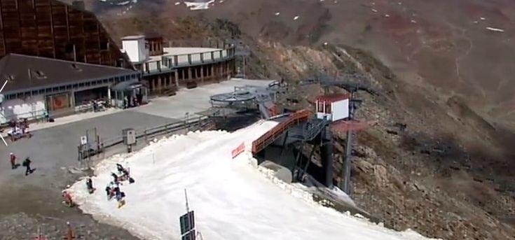 Aperto il ghiacciaio della Val Senales