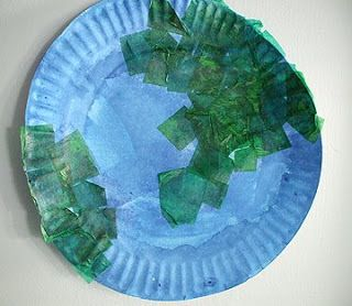 Preschool Crafts for Kids*: Earth Day Paper Plate Craft