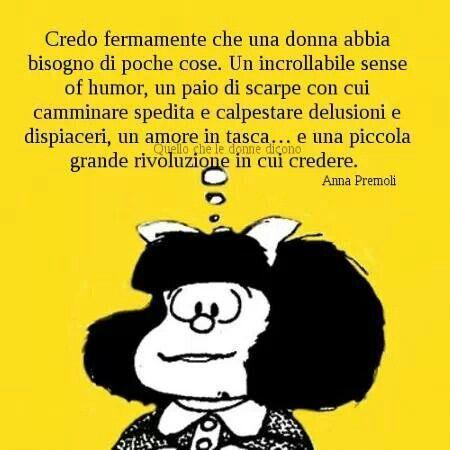 La filosofia di Mafalda.