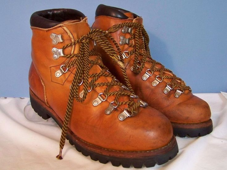 Vintage 70's Red Wing Irish Setter Sport Brown Leather Hiking Work  Boots 10 B #RedWingShoes #Boots #Outdoor