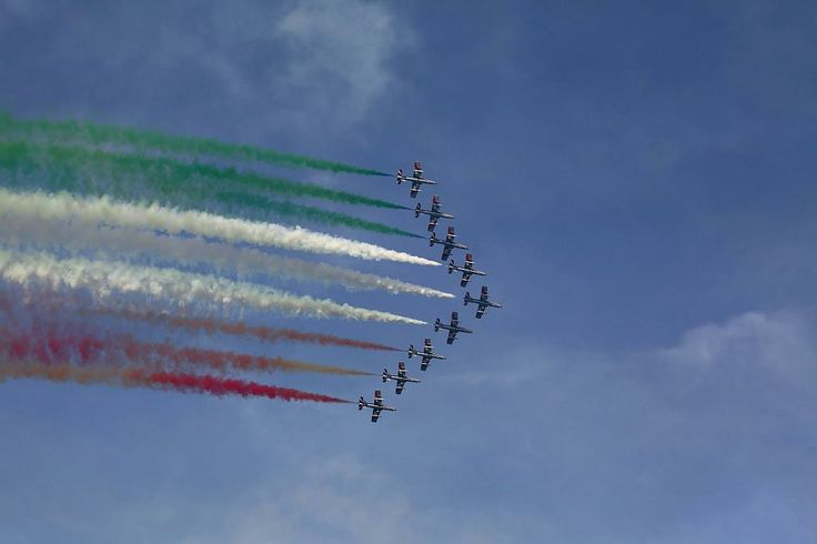 Frecce Tricolore Aviation Day Fermo