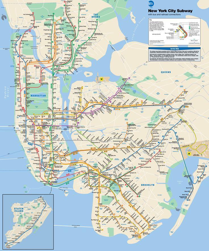 Mta map subway