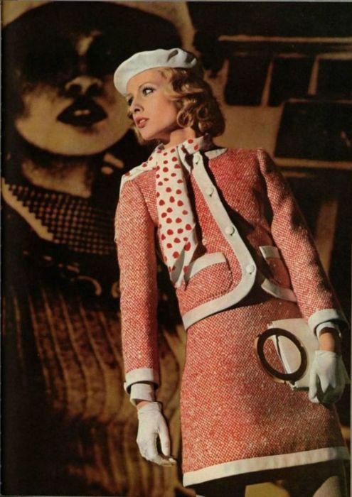 Dior Outfit - 1968 - down with love totally borrowed this - but that movie is set in 60 or 62