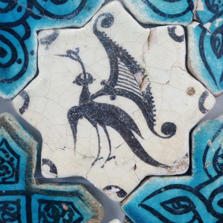 Kubadabad Palace tiles- Konya Karatay Museum #flooring #rugs #naturalarearugs.com