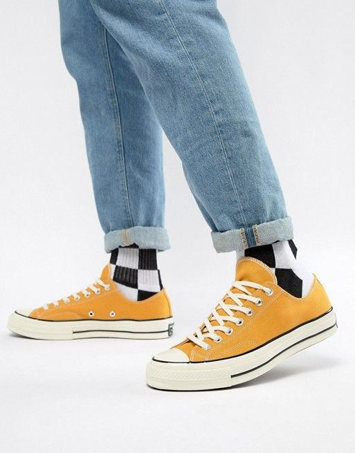 5abf3b26d41f Converse Chuck Taylor All Star  70 Ox Sneakers In Yellow 162063C in ...