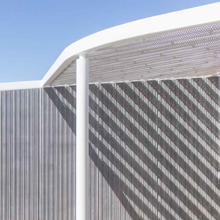 SO-IL and Bohlin Cywinski Jackson's design for the Jan Shrem and Maria Manetti Museum of Art on the University of California, Davis campus uses raw and simple materials to create a vibrant interplay between inside, outside, light, and shadow. (Courtesy Iwan Baan)