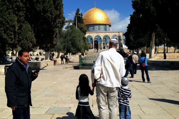 Jewish teens arrested for praying on Temple Mount Wednesday, June 19, 2013  Israel Today Staff  16 Comments   Four Israeli boys taken into custody for allegedly bowing in prayer at Judaism's holiest site; Israeli authorities continue to be cowed into submission by Muslim intimidation