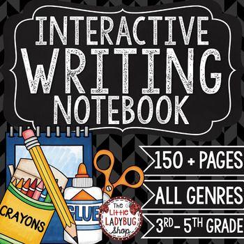 Writing Interactive Notebook & Interactive Writing Notebook