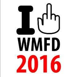 World Middle Finger Day - August 1 - Unofficial holiday celebrating universal gesture of defiance - Strange holiday featured at Worldwide Weird Holidays.