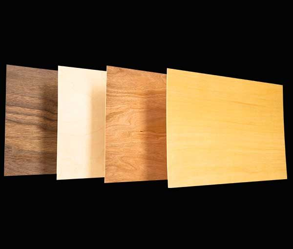1 8 Thick Wood Panels Birch Cherry Maple And Walnut Wood Paneling Wood Real Wood