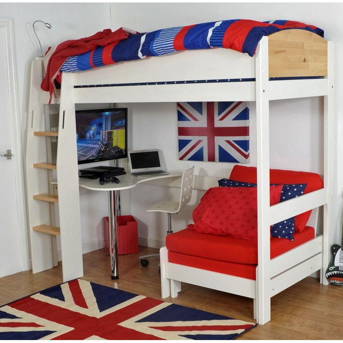 best 25 high sleeper ideas on pinterest high sleeper bed high beds and gaming chair uk. Black Bedroom Furniture Sets. Home Design Ideas