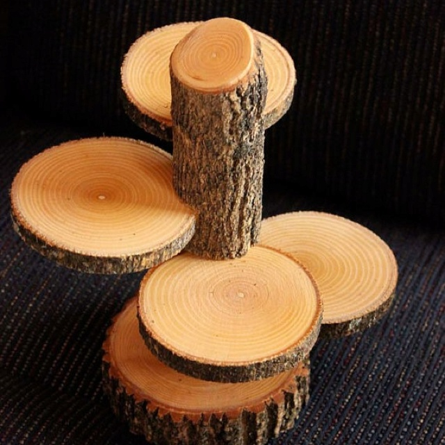 4 tiered log candle holder ( if my dad wants to get real creative ) ha
