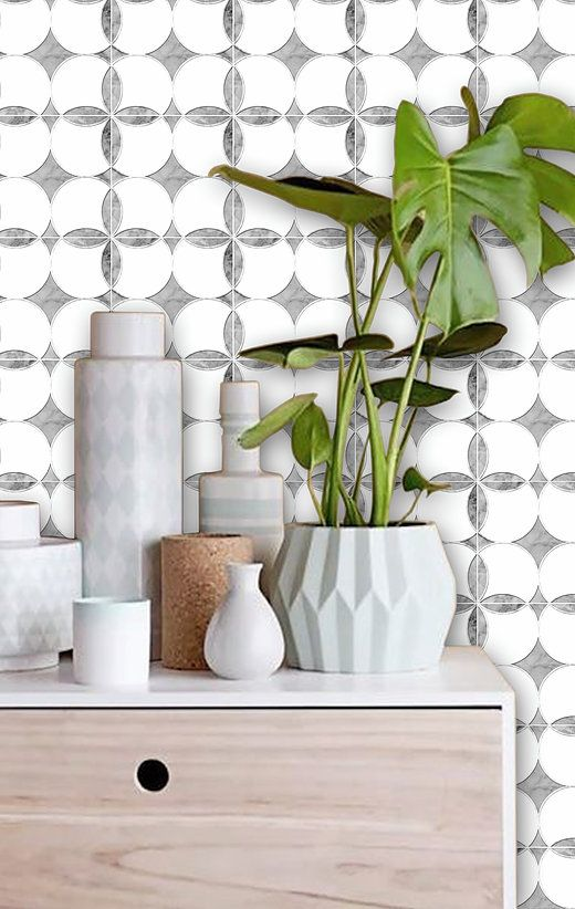 Quadrostyle.com - Peel N' Stick Tile Stickers | Accent Wall