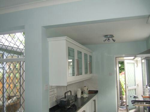 18 best images about home kitchens duck egg blue walls for Duck egg blue dining room ideas