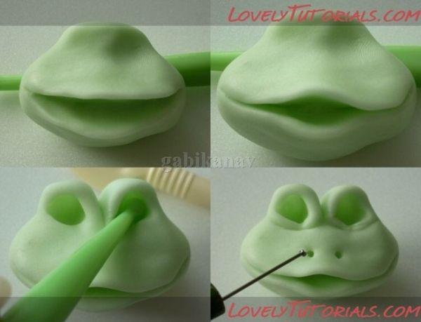 Лягушки - Мастер-классы по украшению тортов Cake Decorating Tutorials (How To's) Tortas Paso a Paso by christine