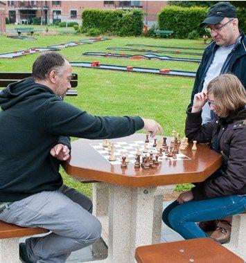 Des tables d'échecs au grand air - L'avenir