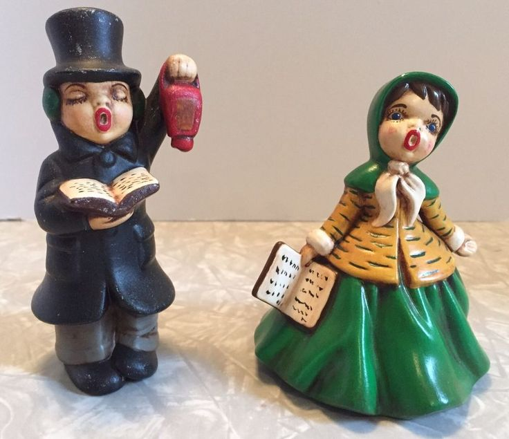 Ceramic Christmas Caroler Figurines Parma By Thepokeypoodle: Best 25+ Caroler Ideas On Pinterest