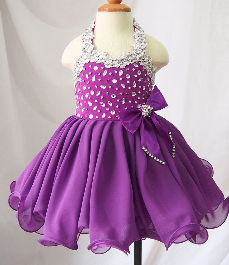 avalible in 15 color ---Infant/toddler/baby/children/kids Girl's glitz Pageant evening/prom Dress/clothing  1~6T G466-1 by jenniferwu58 on Etsy https://www.etsy.com/listing/261374927/avalible-in-15-color