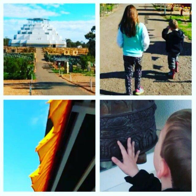 Micro-adventure Highlight: The Great Stupa of Universal Compassion - Bendigo, Vic Australia #buddhisttemple #bendigo #travelblog #peace #tranquility #compassion