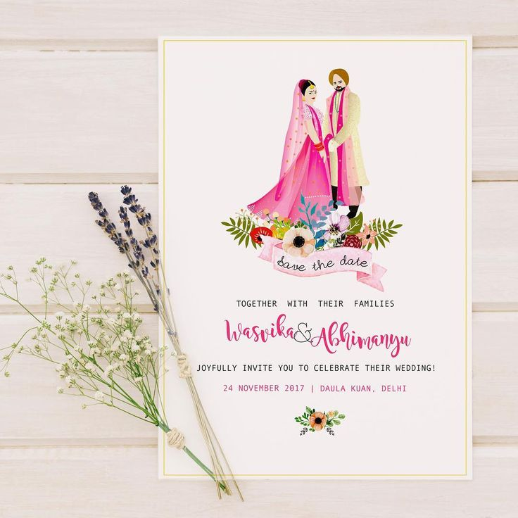 40+ Best Save The Date Invites For Your Indian Wedding