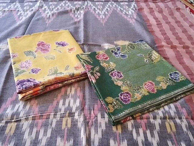 Batik encim pekalongan & tenun sekaf jepara  Visit & like us on www.facebook.com/metokita