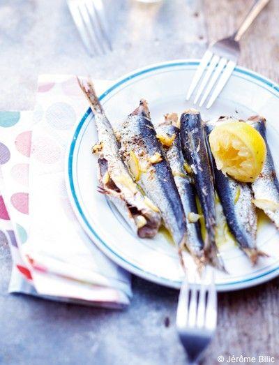 Sardines grillées de Saint-Gilles-Croix-de-Vie pour 6 personnes - Recettes Elle à Table - Elle à Table