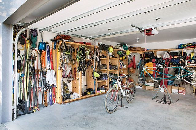 Advice From the Washington Man Who Built the Ultimate Garage | Outdoor Gear - Equipment Reviews and Articles | OutsideOnline.com
