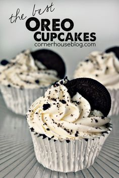 The Best Oreo Cupcakes - can always use another Oreo recipe!