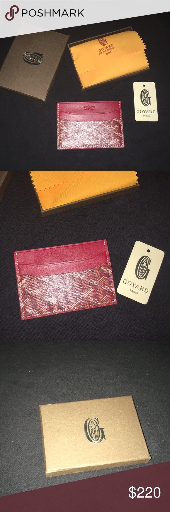 Goyard men's wallet Brand new Goyard men's wallet Goyard Accessories