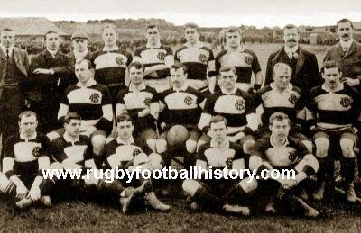 baa-baas Baa-baa team vs. Swansea 1901 The Baa-Baas  In 1925 they introduced a blazer which was dark blue with gilt buttons and a pocket badge of two lambs gamboling with a rugby ball. Although it should not need explaining the two lambs were a play on the word Barbarian which starts with 'Bar' and 'Bar', hence the two sheep. The club has affectionately been called 'the Baa-Baas' ever since.