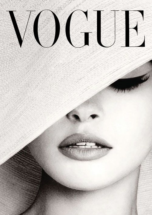 vogue cover black and white - Google Search