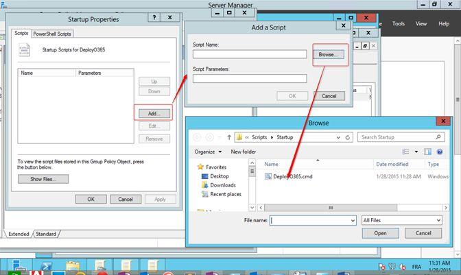 1 – Déployez des produits Office à l'aide de l'outil Déploiement Nous allons créer un Dossier partagé qui s'appellera Office15. Dans la boîte de dialogue de partage de fichiers, cliquez sur la list...