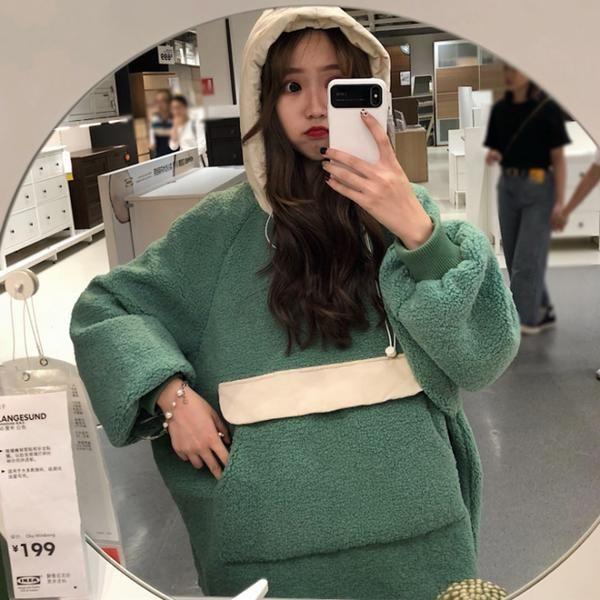 Thick sweater imitation lamb velvet Thick sweater imitation lamb velvet