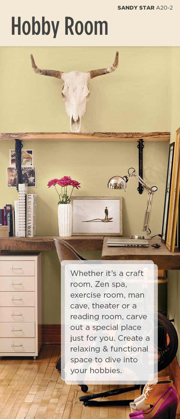 19 best images about empty nest room transformation ideas - Best colour for study room ...