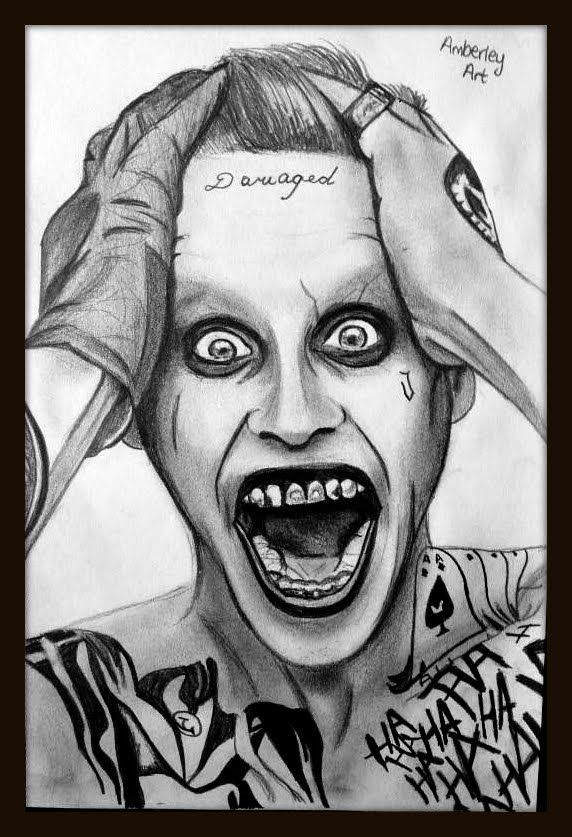 joker drawing leto easy jared drawings suicide squad sketch draw simple card zeichnungen marvel looking