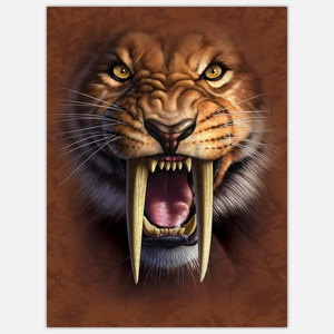 Big Face Sabertooth now featured on Fab.