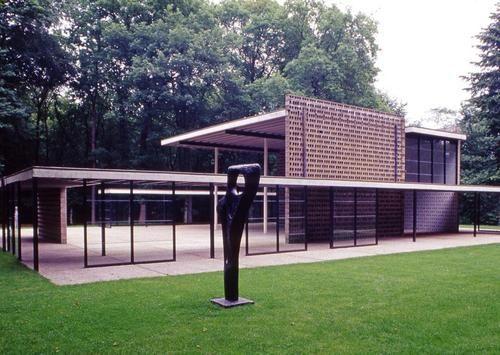 Gerrit Rietveld, Sonsbeek Pavilion, 1955, Arnhem