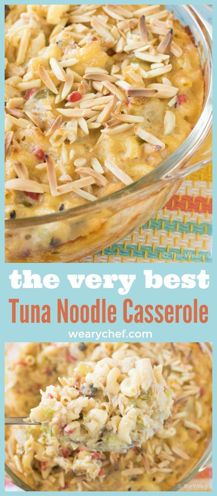 Easy Tuna Noodle Casserole really is the best! Classic comfort food to make you feel good inside and out.
