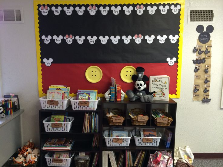 Classroom decor, Mickey Mouse Classroom theme