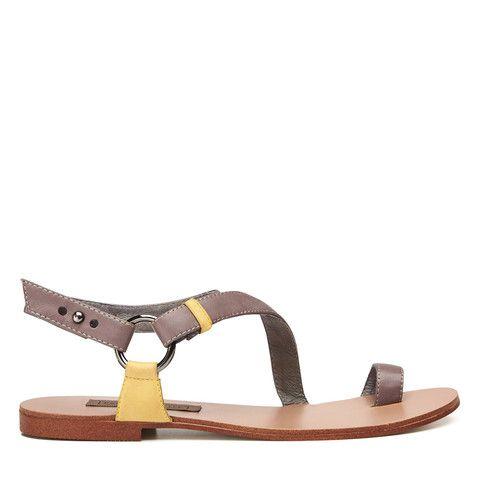 Dreamwalker Sandal - Taupe/Sand – Harlequin Belle